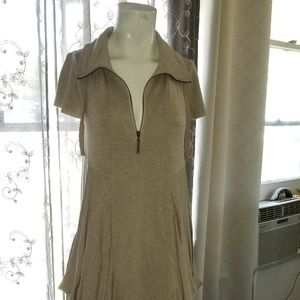 KENSIE JERSEY LACE SLOCHY W/POCKETS DRESS